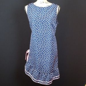 Red Valentino navy pink dot abitii donna Rk:5:319